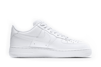 Nike Men's Air Force 1 Low '07 Shoe (White, Size 10.5)