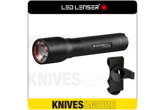 New LED LENSER P14 Flashlight 800 Lumens Torch & Intelligent Clip