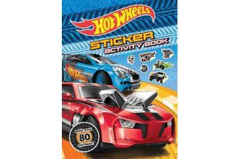 Hot Wheels Sticker Activity Book