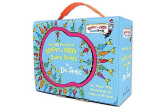 The Little Blue Box of Bright and Early Board Books by Dr. Seuss