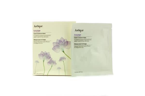 Jurlique Purely Bright Facial Treatment Mask (Box Slightly Damaged) (5x20ml/0.67oz)