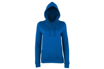 AWDis Just Hoods Womens/Ladies Girlie College Pullover Hoodie (Royal Blue) (S)
