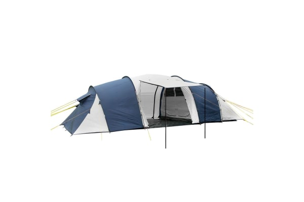 12 Person Family Camping Tent (Navy/Grey)