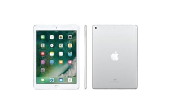 Used as Demo Apple iPad 9.7-inch 5th Gen 128GB Wifi + Cellular Silver (100% GENUINE + AUSTRALIAN WARRANTY)