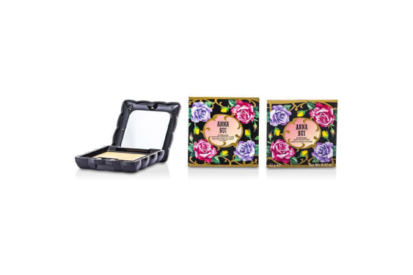 Anna Sui Powder Foundation SPF 20 (Case & Refill) - # 100 (12g/0.42oz)