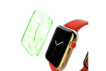 Green For Apple Watch 1 2 3 4 (44mm 42mm) Slim TPU Protective Case