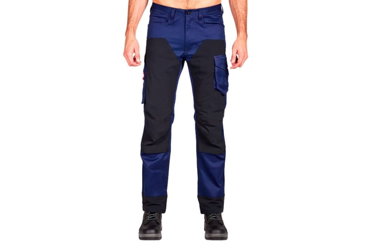Hard Yakka Legends 3D Stretch Pants (Navy/Black, Size 97R)