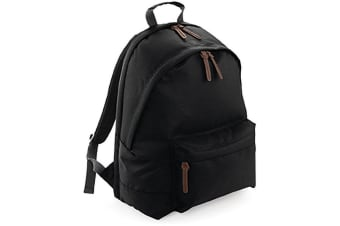 Bagbase Campus Padded Laptop Compatible Backpack/Rucksack (Black) (One Size)