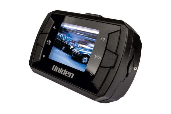 Uniden Compact Size Black Box Vehicle Recorder with Lexar 32GB High-Endurance microSDHC/microSDXC UHS-I card