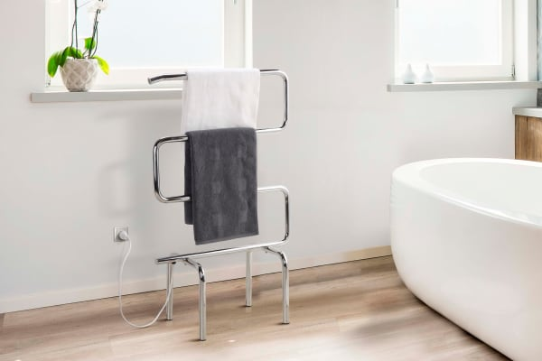 Kromo Portable Heated Towel Rail