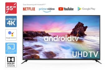 "Kogan 55"" Smart HDR 4K LED TV Android TV™ (Series 9, XU9210)"