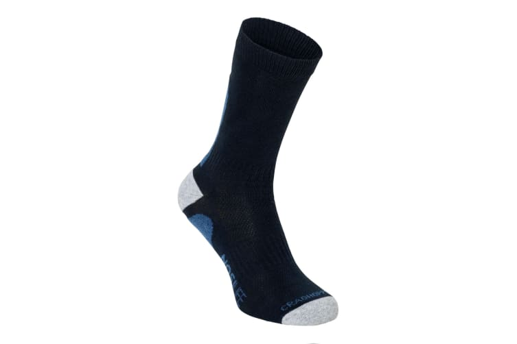 Craghoppers NosiLife Mens Adventure Breathable Sock (Dark Navy/Soft Denim) (9-12 UK)