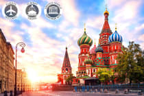 RUSSIA: 19 Day Tour & River Cruise Including Flights for Two