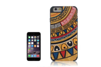 For iPhone 6S 6 Case Ethnic Wooden Modern High-Quality Durable Shielding Cover