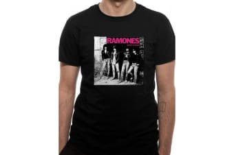 Ramones Unisex Adults Rocket To Russia T-Shirt (Black) (S)