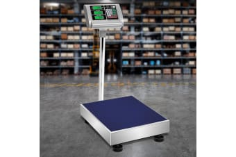 Digital Platform Scales 300KG Large Scale Price Commercial Versatile Warehouse Market Postal Delivery Weight Stainless Steel