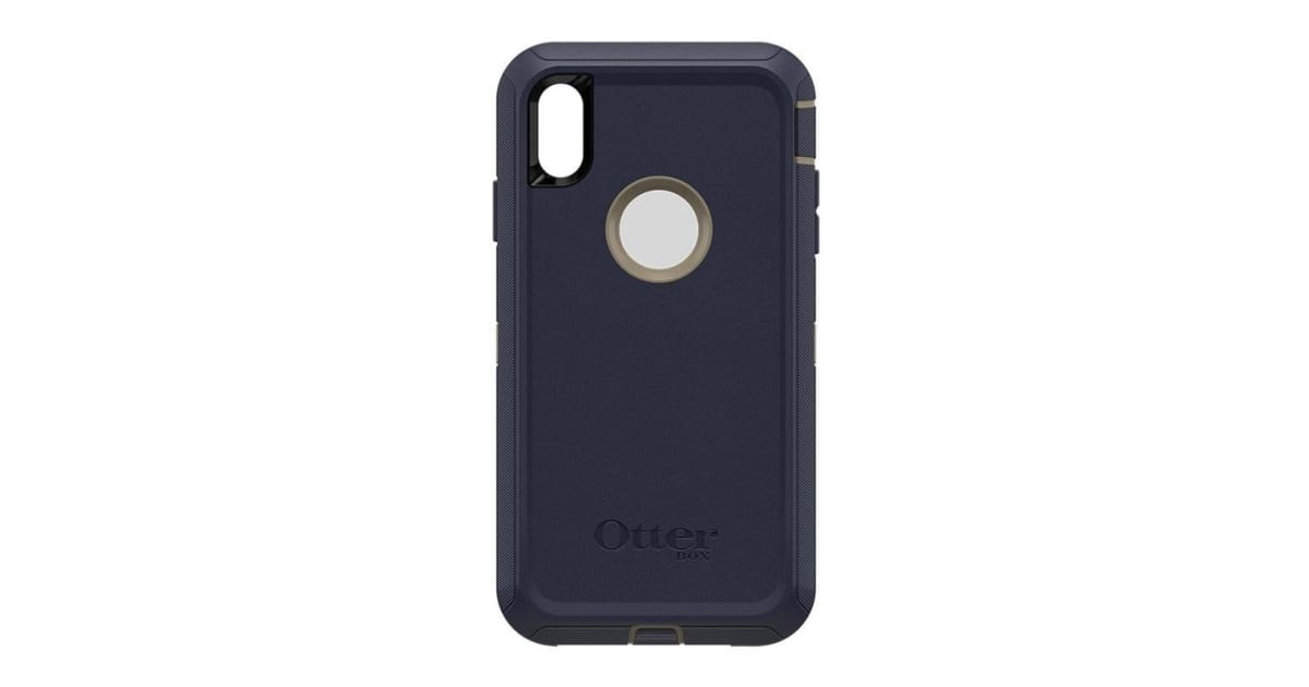 reputable site 0d950 0827d Otterbox Defender Case for Apple iPhone Xs Max - Dark Lake Blue | Phone  Cases
