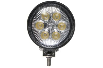 ALUMINIUM LED WORKLIGHT WORK LIGHT LAMP SPOT BEAM 12V 24V VOLT 6 X 3WATT 3000L