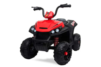 ROVO KIDS Electric Ride-On ATV Quad Bike Toy Boys Toddler Battery Motorised Car