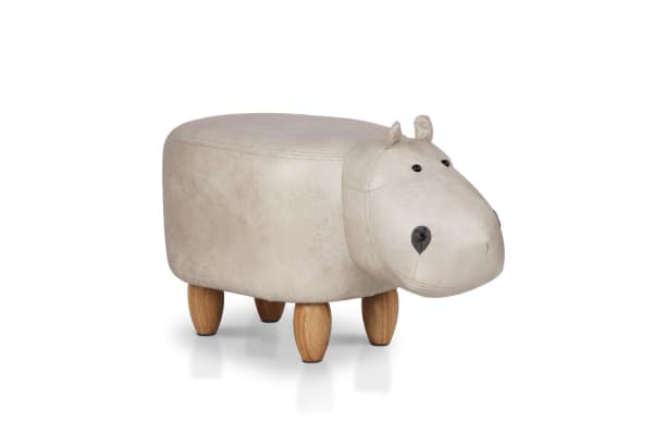 Kids Hippo Stool (Beige)