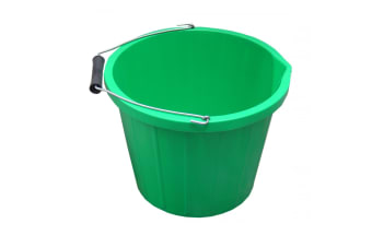 ProStable Water Bucket (Green) (3 Gallons)