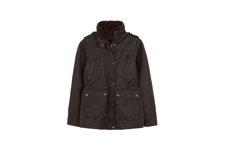 FatFace Womens/Ladies Sussex Jacket (Chocolate) (10 UK)