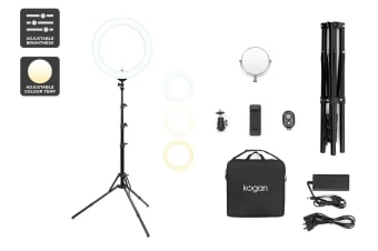 "Kogan 19"" LED Ring Light"