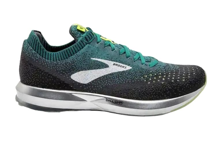 Brooks Men's Levitate 2 (Black/Teal/Navy, Size 8.5)
