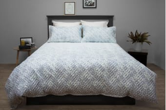 Ardor Boudoir Terrace Quilted Quilt Cover Set (Queen)