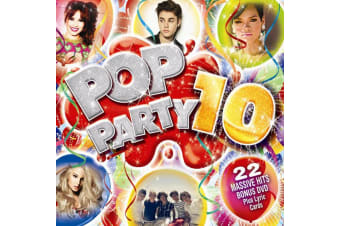 Various – Pop Party 10 BRAND NEW SEALED MUSIC ALBUM CD - AU STOCK