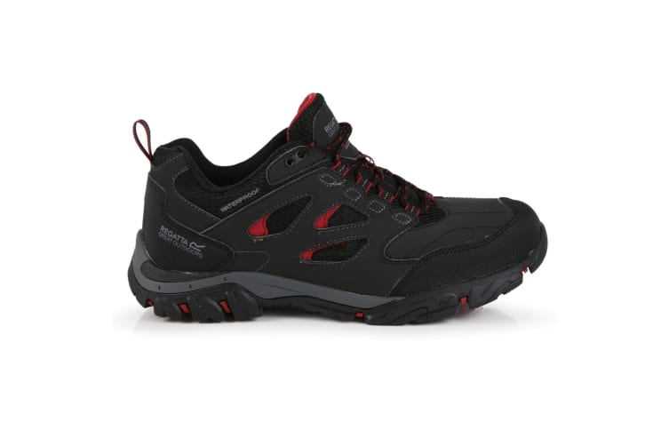 Regatta Mens Holcombe IEP Low Hiking Boots (Ash/Rio Red) (9 UK)