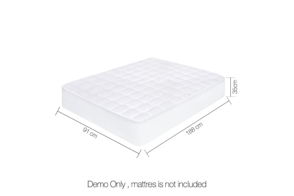 Cotton Cover Mattress Protector (Single)