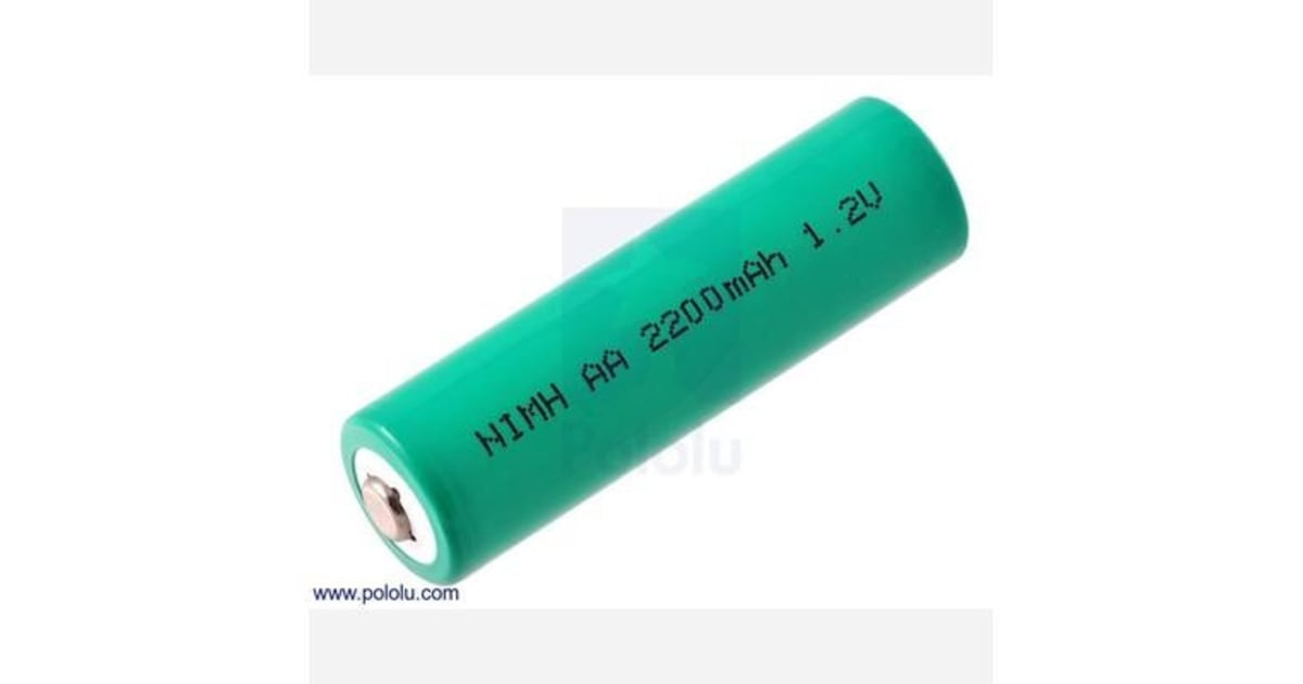 rechargeable nimh aa battery 1 2 v 2200 mah 1 cell. Black Bedroom Furniture Sets. Home Design Ideas
