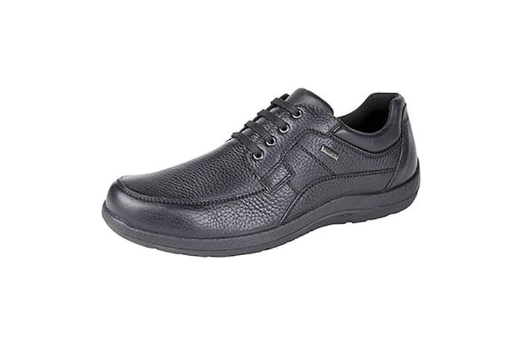 IMAC Mens Waterproof Extra Wide Lace Up Casual Shoes (Black) (46 EU)