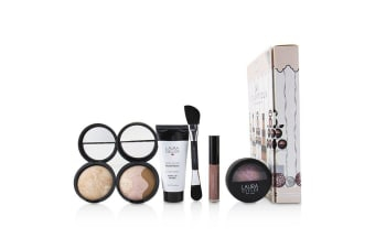 Laura Geller So Scrumptious 6 Piece Full Size Beauty Collection - # Fair (Box Slightly Damaged) 6pcs
