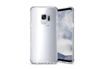 For Samsung Galaxy S9 Back Case Shockproof High-Quality Transparent Armour Cover