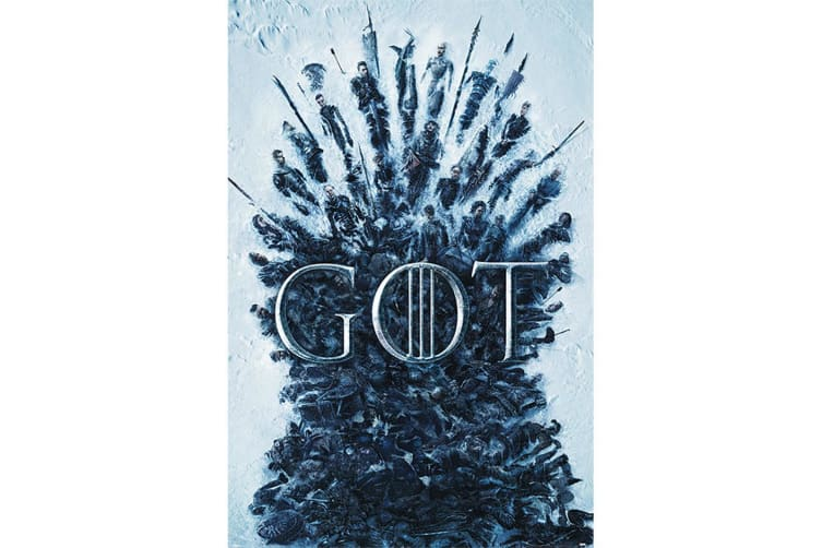 Game Of Thrones Throne Of The Dead Poster (Multicoloured) (61cm x 91.5cm)