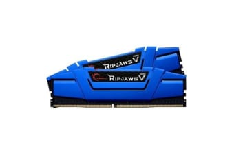 G.SKILL Ripjaws V Series 16GB (2 x 8GB) DDR4 2666Mhz CL15 1.2v Blue Desktop Memory     Model