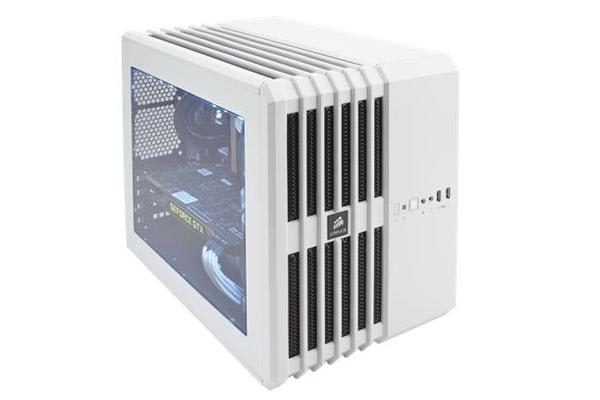 Corsair Air240 mATX Case White Cube Design w/Direct Cooling