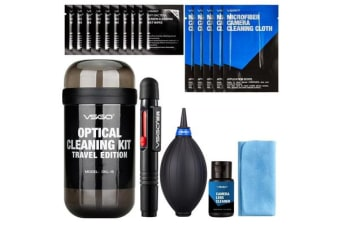 VSGO DKL-15 Travel Edition DSL Camera Lens Cleaning Kits (Gray) Lens Cleaner