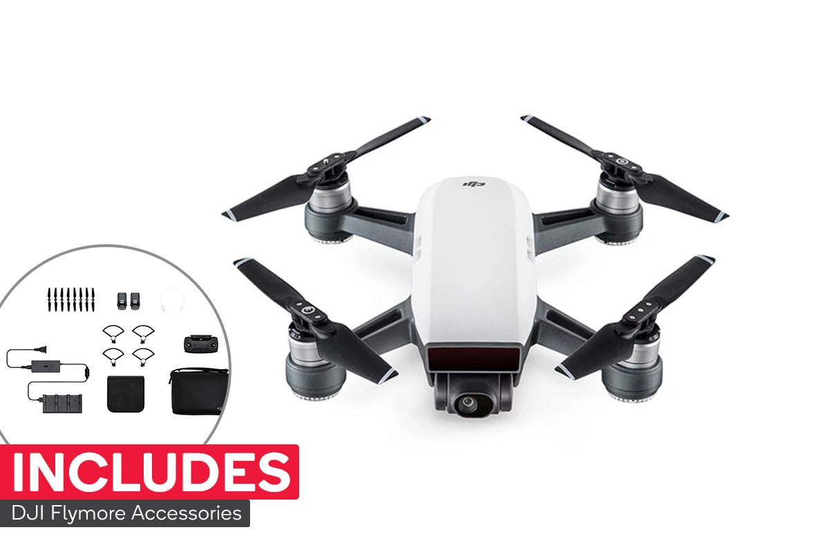 Image of DJI Spark Fly More Combo (Alpine White)