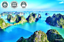 VIETNAM: 10 Day Heritage of Vietnam Including Flights for Two