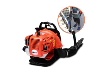 New MaxPro 30cc Commercial Backpack Blower with Gutter/Extension Kit
