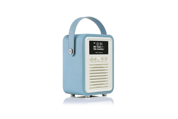 View Quest Retro Mini DAB+ Radio & Speaker - Blue (MINI-BL)