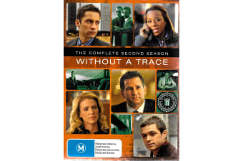 Without A Trace : Season 2 - Series Region 4 Rare- Aus Stock Preowned DVD: DISC LIKE NEW