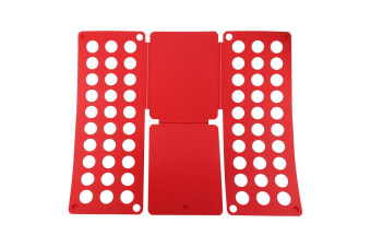 Magic Garment/Clothes T-Shirt/Blouses Folder/Folding Board Template - Red