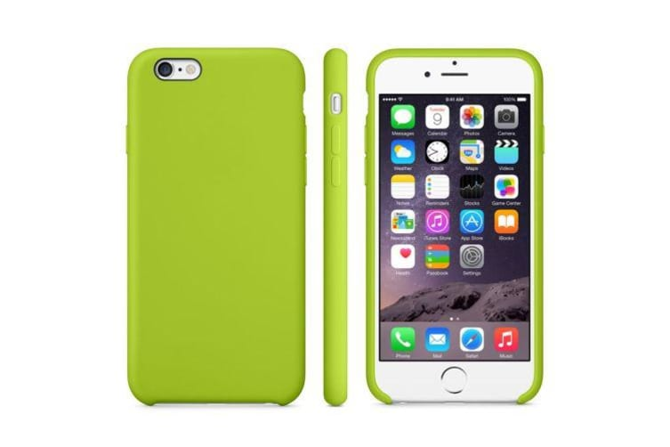 For iPhone 6S 6 Case Smart Anti-Slip High-Quality Durable Shielding Cover Green