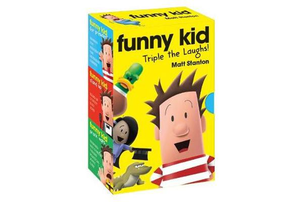 Funny Kid Triple the Laughs! (Books 1-3)