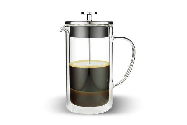 Tramontina 6 Cup Double Wall Glass Coffee Plunger