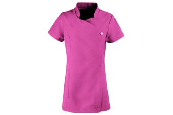 Premier Ladies/Womens *Blossom* Tunic / Health Beauty & Spa / Workwear (Pack of 2) (Hot Pink) (6)